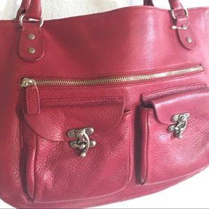 Cynthia Rowley Bags - Cynthia Rowley Red leather purse